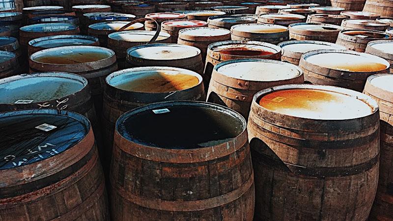 Whisky casks